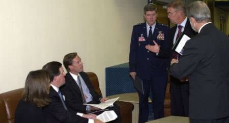 Being NATO's Secretary General on 9/11