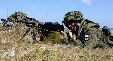"""""""Nordic duo should stay together""""  -- study on NATO membership published in Finland"""