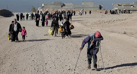 Protecting civilians with disabilities in conflicts