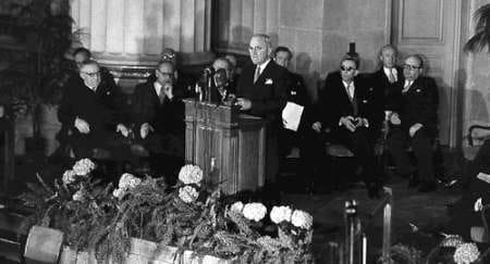 """The end of the """"Great Illusion"""": Norman Angell and the founding of NATO"""