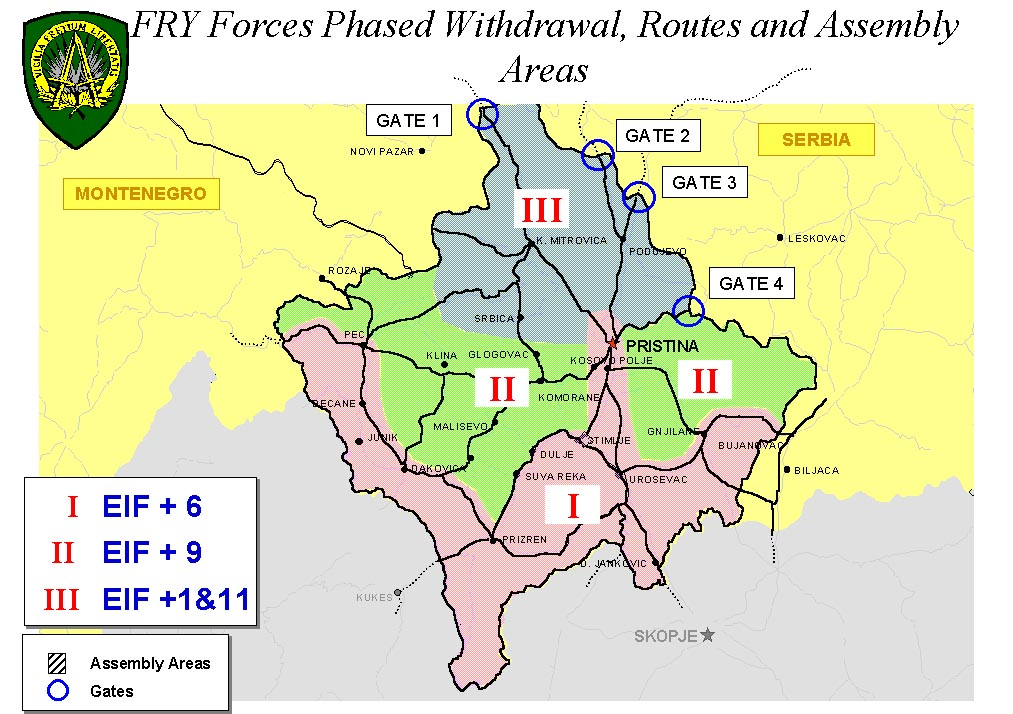 Kumanovo military technical agreement 9 June 1999 updated 2 August