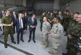 NATO Secretary General visits Amari Air Base, Estonia