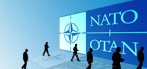Logo ministerial meeting at NATO HQ