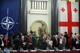 Meeting of the North Atlantic Council with members of the Georgian Parliament