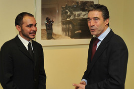 H.R.H. Prince Ali Bin Al-Hussein of Jordan and NATO's Secretary General Mr. Anders Fogh Rasmussen