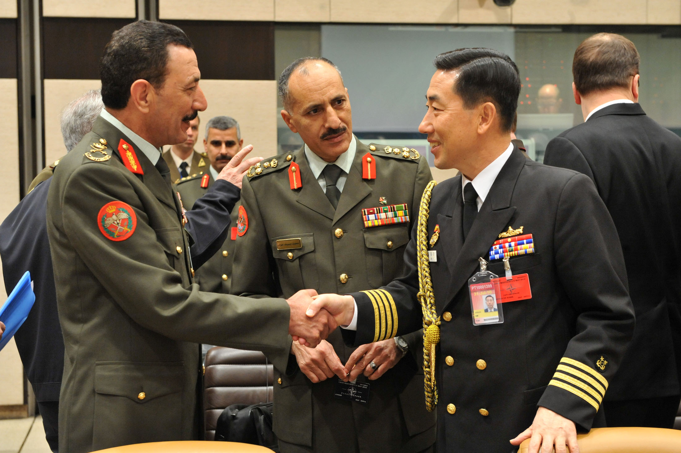 Nato photo gallery military committee in chiefs of for Chair joint chiefs of staff
