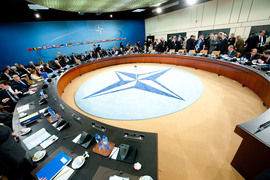 North Atlantic Council Meeting - General view of the meeting