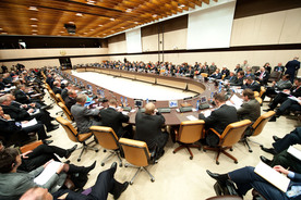 Meetings of the Ministers of Defence at NATO Headquarters, Brussels - North Atlantic Council Meeting with non-NATO KFOR Contributing Nations