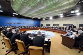 Meetings of the NATO Foreign and Defence Ministers at NATO Headquarters, Brussels - North Atlantic Council Meeting with NATO Defence Ministers
