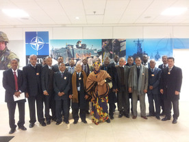 small_Visit to NATO HQ by parliamentarians and academics from Mauritania