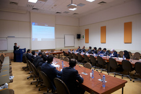 small_Diplomats from the State of Qatar visit NATO HQ