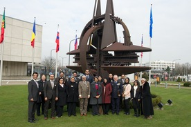 small_Diplomats from the Kingdom of Bahrain visit NATO