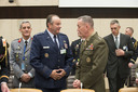 Left to right: General Philip Mark Breedlove (Supreme Allied Commander Europe) with General Joseph Dunford (Commander ISAF)