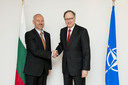 Left to right: Mr. Todor Tagarev, the Minister of Defence of Bulgaria and the NATO Deputy Secretary General, Ambassador Alexander Vershbow