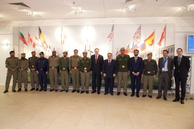 small_Visit of the Deputy Chief of Defence of Qatar to NATO
