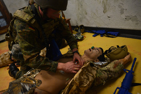 NATO Special Ops train to save lives - Allied Centre for Medical Education (ACME) training facility (located at SHAPE)