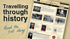 Travelling through history - Read the full story
