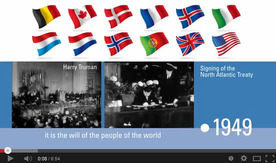 The history of NATO - Video timeline