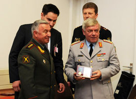 NATO Military Officers honoured by Russian Chief of Defence