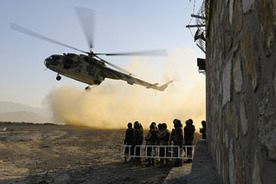 ANP Crisis Response Unit Shines During ISAF SOF Air Assault Training