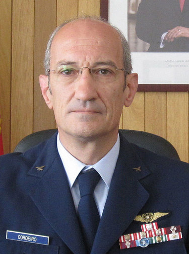 Lieutenant-General João Luís Ramirez de Carvalho Cordeiro, Military Representative of Portugal to NATO