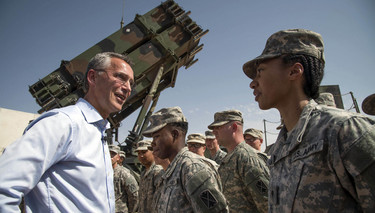 NATO Secretary General thanks Patriot crews protecting Turkey
