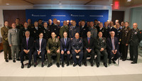 The NATO Military Committee visits Washington