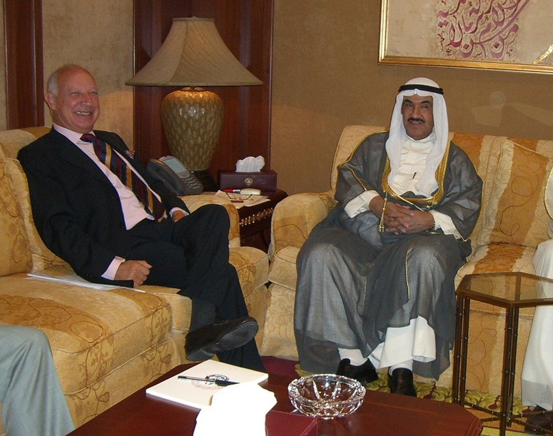 The Deputy Secretary General of Kuwait H.E. Amb. Alessandro Minuto Rizzo visited Kuwait on 5 September 2007 and met with the Prime Minister of Kuwait H.H. Sheikh Nasser Al-Mohammed Al-Sabah.