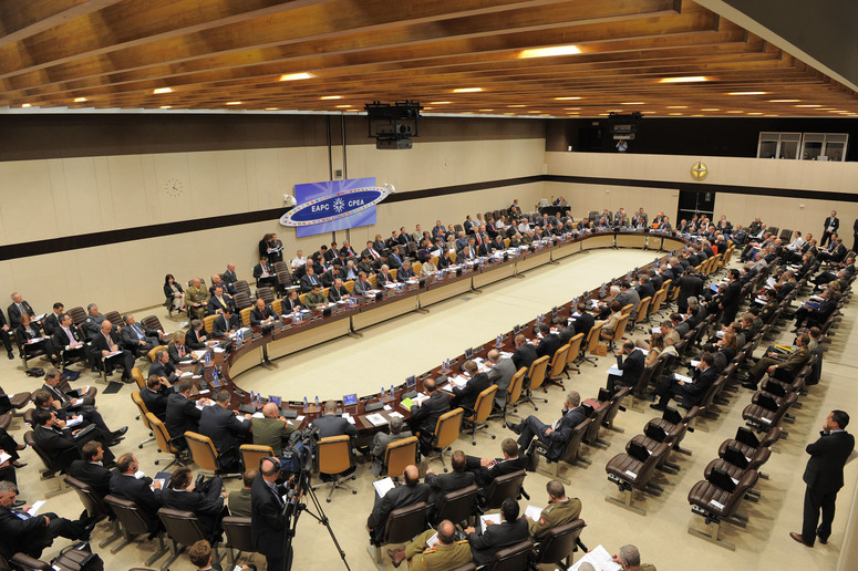 Euro-Atlantic Partnership Council. View of the room.