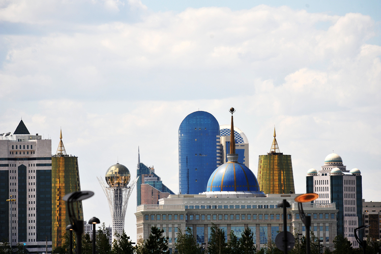 Views of Astana, Kazakhstan