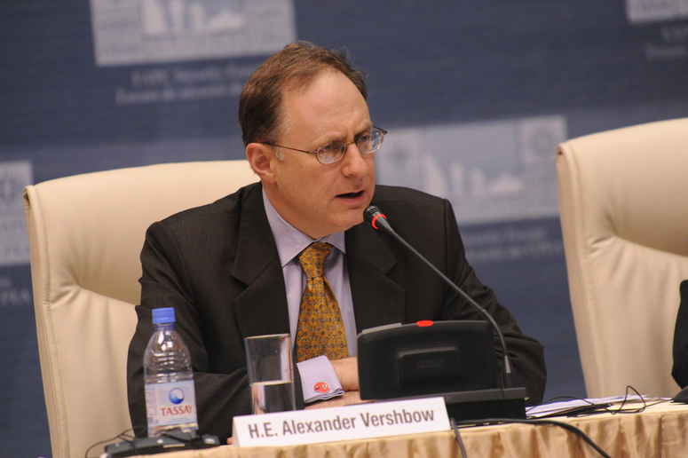 Alexander Vershbow Assistant Secretary of Defence for International Security Affairs, US