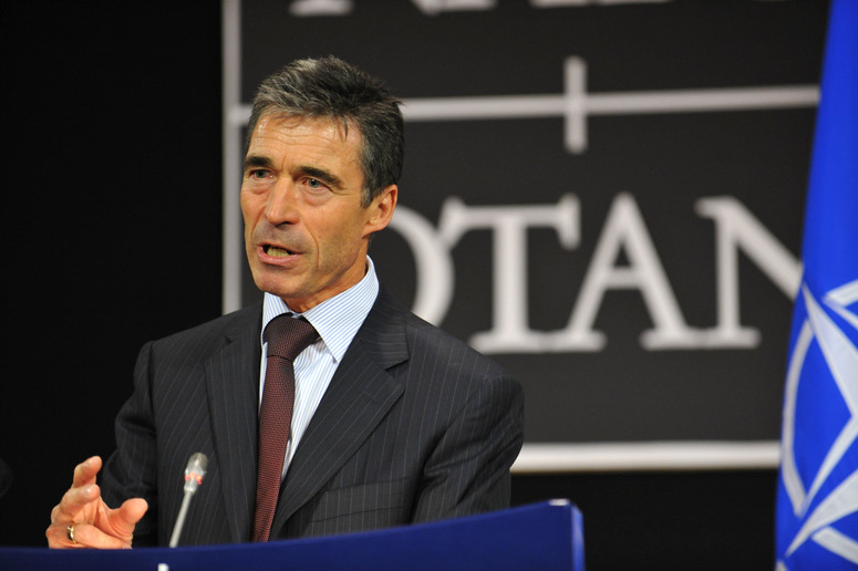Monthly press conference by NATO Secretary General Anders Fogh Rasmussen