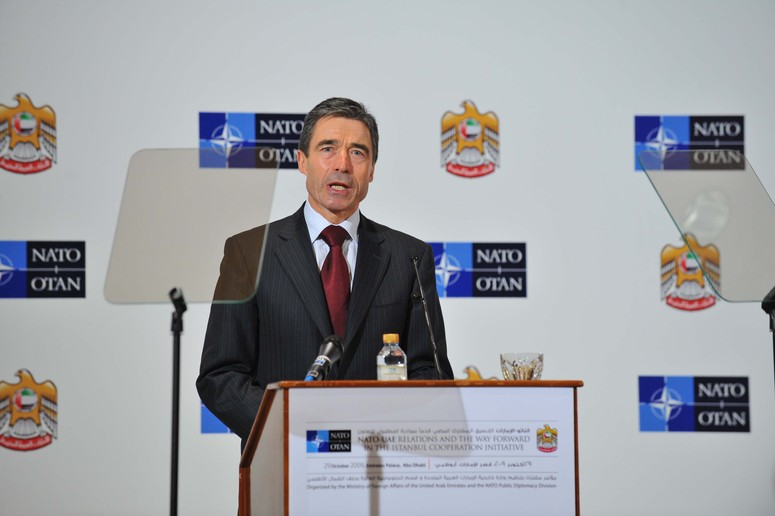 Opening of the conference. NATO Secretary General H.E.Mr. Anders Fogh Rasmussen's keynote speech at the joint NATO-UAE Conference