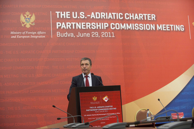 Speech by NATO Secretary General Anders Fogh Rasmussen at the Adriatic Charter Conference in Montenegro