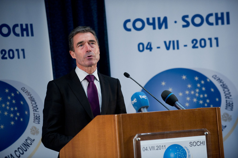 Press conference by the Chairman of the NATO-Russia Council, Anders Fogh Rasmussen.