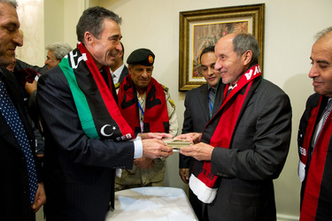 NATO Secretary General makes historic Libya trip