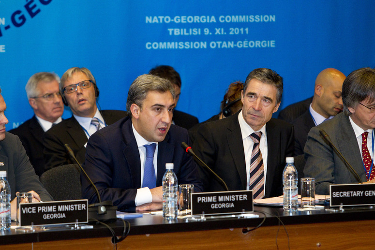 NATO-Georgia Commission meeting (NGC) in Tbilisi, Georgia, 9 November 2011. Opening remarks by the Prime Minister of Georgia, Nika Gilauri.