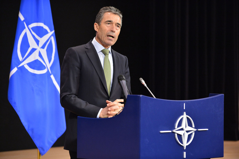 Press Conference NATO Secretary General Anders Fogh Rasmussen following the NATO-Russia Council Meeting
