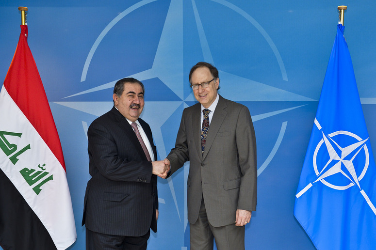 Bilateral meeting between NATO Deputy Secretary General Alexander Vershbow and Iraqi Foreign Minister Hoshyar M.M. Zebari.