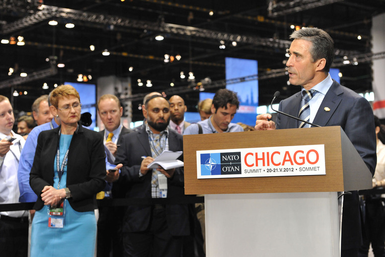 Doorstep statement by NATO Secretary General Anders Fogh Rasmussen at the beginning of the NATO Chicago Summit.