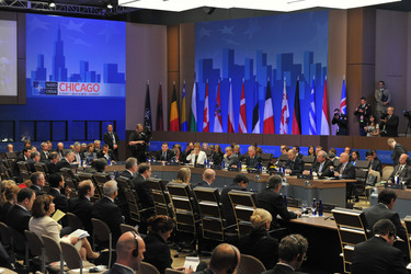 NATO leaders meet with partners in Chicago