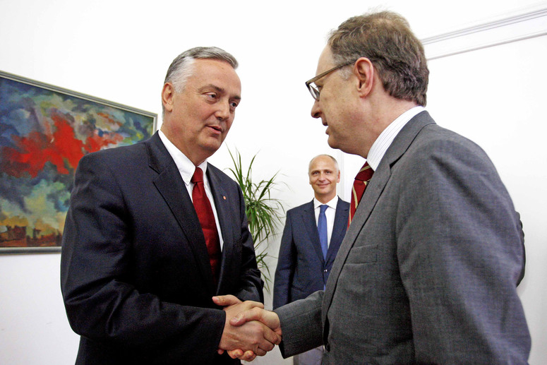 Meeting between NATO Deputy Secretary General Alexander Vershbow and the Deputy Chairman of the Council of Ministers and Minister of Foreign Affairs of Bosnia and Herzegovina Zlatko Lagumdzija