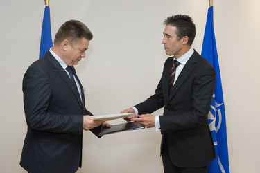 Ministers reinforce cooperation in NATO-Ukraine Commission