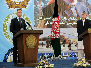NATO Secretary General welcomes Afghan transition announcement