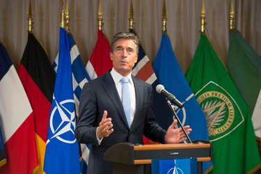 Statement by NATO Secretary General Anders Fogh Rasmussen at the visit with the British Prime Minister to Headquarters of Allied Command Operations (SHAPE)