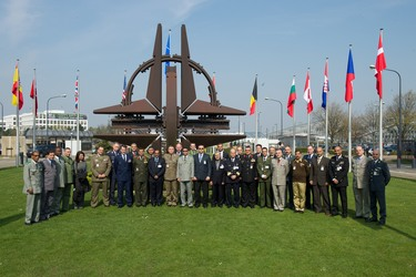 Visit to NATO HQ of the NATO Regional Cooperation Course (NRCC-11)