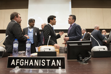 ISAF Ministers praise Afghan security forces ahead of historical Afghan elections