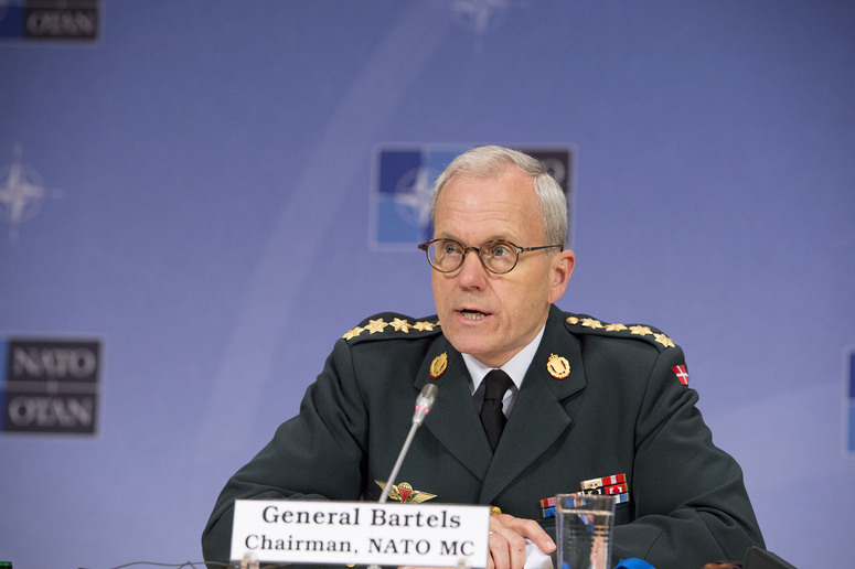 General Knud Bartels (Chairman of the NATO Military Committee)
