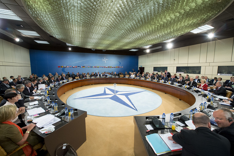General View of the NATO-Ukraine Commission Meeting