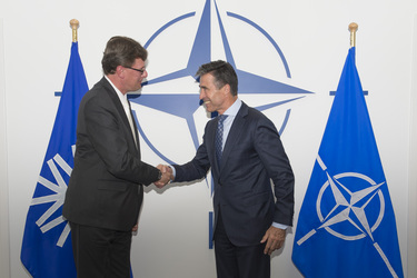 Meeting between the NATO Secretary General and the Chairman of IBAN